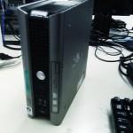DELL Optiplex 755 ハードディスク交換。OSリカバリ。広島市南区のお客様