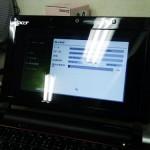 Acer Aspire one D250 Windows XP リカバリ。広島市中区のお客様