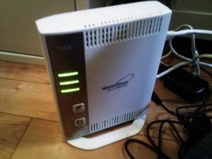 光回線開通後の初期セットアップ。Wi-Fi設定・メール設定