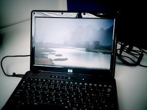 新規導入されたノートパソコンの初期セットアップ