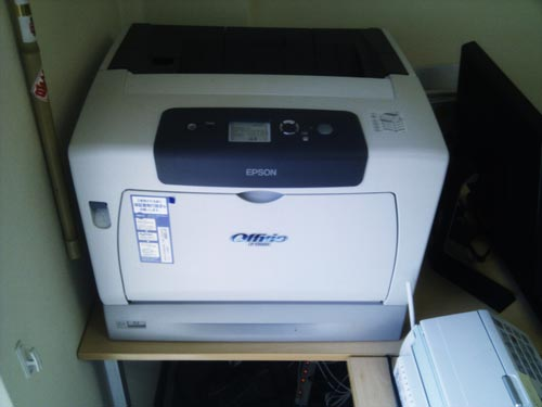 EPSON LP-S5000 プリンタ共有設定