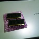 富士通 FMV-BIBLO NF50W 1GBから2GBへメモリ交換。広島市安佐南区のお客様