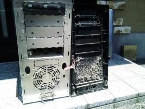[メンテナンス] パソコンクリーニング。広島市安佐北区のお客様