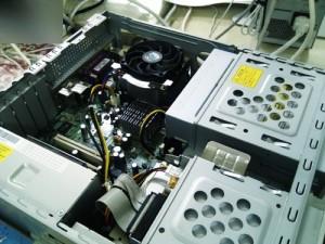 NEC MY26X/R-1 512MBから1GBメモリ増設