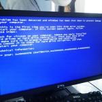 Windows XP セーフモード起動不可。STOP:0x0000007B 広島市中区のお客様