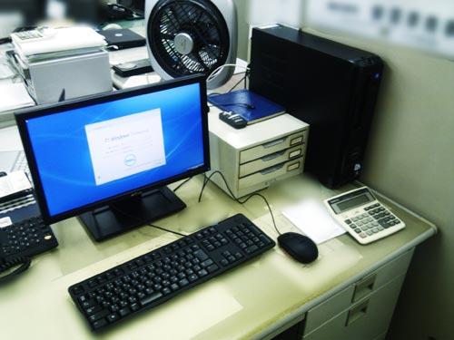 DELL デスクトップパソコン購入後の設置。周辺機器設定