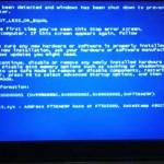 Windows XP エラー:0x0000001D NDIS.SYS。広島市安佐北区のお客様