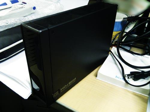 アイ・オーデータ、HDJ-UT外付けハードディスク修復