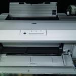 EPSON A3インクジェット PX-1004設置設定と共有設定。広島市中区のお客様