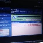 偽セキュリティソフト Internet Security 駆除作業。広島市安佐南区のお客様