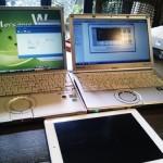 パソコン購入後のデータ移行。iPad購入後の初期セットアップ。広島市西区へ訪問サポート