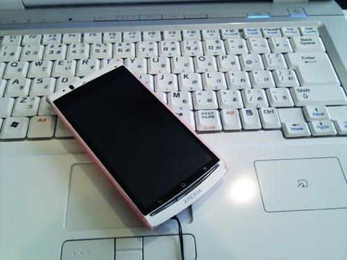 スマートフォン MicroSDカード内の写真データ復元
