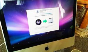 iMac 壊れたハードディスクをSeagate 1TBに交換