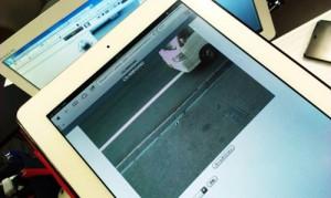 ネットワークカメラ CS-WMV04N2 設定。iPadを使って外出先からモニタリング。