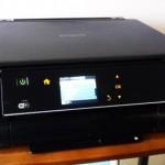 EPSON EP-775A 無線LANでの印刷設定。