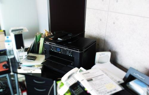 EPSON PX-1700F USB接続から無線LAN(Wi-Fi)接続へ。印刷設定。