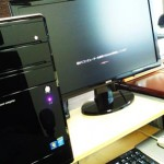 BTOパソコン、発注から1ヵ月近く・・・。ようやく入荷。設置、初期セットアップ、周辺機器の設定へ。
