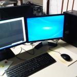 パソコン買い替え後の初期セットアップと周辺機器設定。