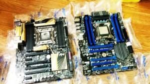 マウスコンピューター。マザーボード(MSI X79A-SD40)交換。