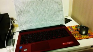 TOSHIBA dynabook T55/76MR 初期セットアップと周辺機器設定。