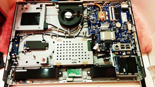 NEC PC-VN370MS 分解。データ救出とOS再セットアップ。