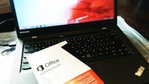 ThinkPad X1 Carbon 購入後の初期設定とメールデータ移行。