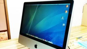 iMac (Early2008 20インチ) HDDを交換。