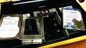 SONY VPCS14AFJ ハードディスク交換とOS再セットアップ。