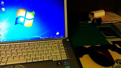 USBで接続したマウスが認識しない。USB Composite Device。