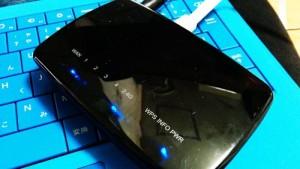 エレコム 無線ルーターの設定と、iPad miniの初期設定。