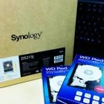 Synology DS215jを使って、社内ファイル共有とバックアップ。