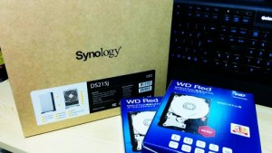 Synology DS215j WD Red