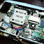 富士通 一体型PC ESPRIMO ハードディスク交換とリカバリ