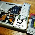 東芝 dynabook R732 容量不足のSSDを交換。