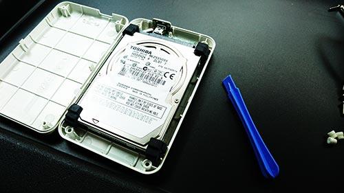 I-O DATA HDPS-U Portable HDD 分解