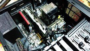 BTOパソコン CPUファン、ケースファン交換 組み立て