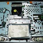 TOSHIBA REGZA PC D731 分解とHDD交換。
