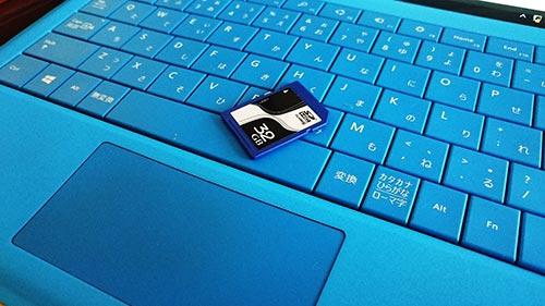 32GB SDカード復元