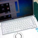 Panasonic Let's Note CF-B11 ハードディスク交換とOS再セットアップ。