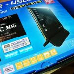 無線ルータ故障。 NEC Aterm PW-WG1800HP2 へ交換。