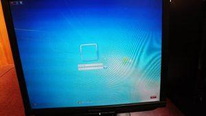 Windows 7 ログイン画面