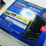 NEC Aterm WG2200HP (PA-WG2200HP) へ無線ルータ交換。