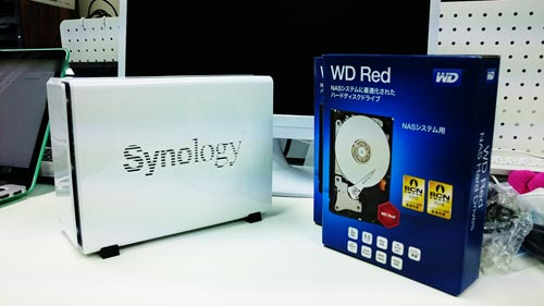 Synology DiskStation DS216j WD Red 1TB