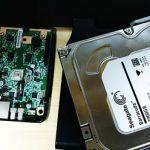 I-O DATA HDL2-A NAS ハードディスク故障。RAID1環境でのデータ救出。