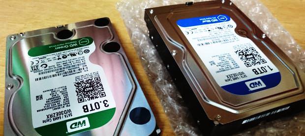 HDD換装、交換サービス