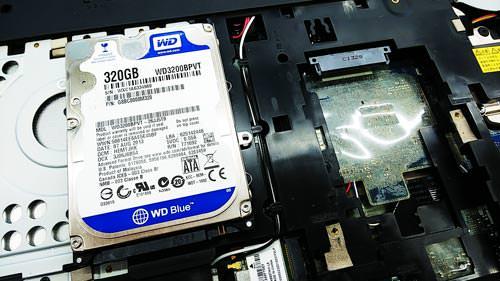 NEC PC-VJ24LFWZ1SZG ハードディスク