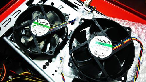 Dell Studio XPS 9100 CPUファン Swellder SUNON KDE1209PTVX 交換