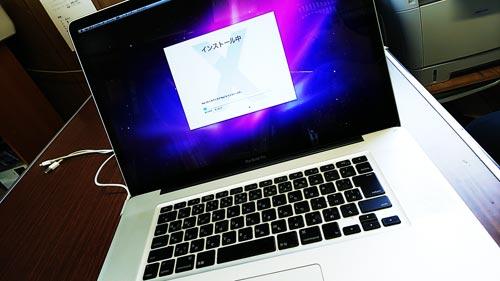 MacBook Pro OS再インストール リカバリ