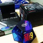 Core i 9 i9-9900K ASRock Z390 Pro4