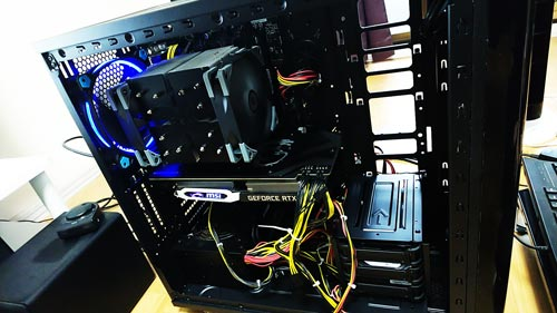 PC組み立て